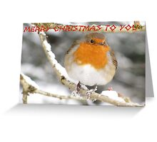 Cold Feet Card Greeting Card