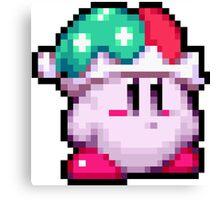 Kirby Jester Pixel Canvas Print