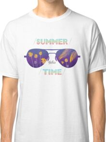 Summer time glasses Classic T-Shirt