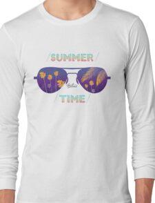 Summer time glasses Long Sleeve T-Shirt