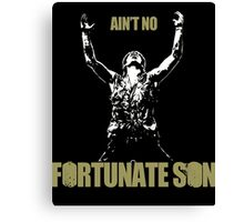 Fortunate Son Canvas Print