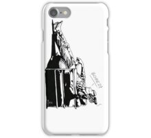 Sherlock - BORED (version without color) iPhone Case/Skin