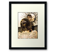Mirror collection Framed Print