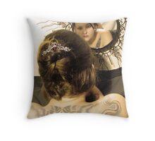 Mirror collection Throw Pillow