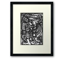 Quick Thought of a Thought. Framed Print