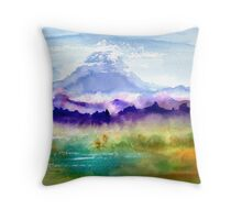 Only The Mountain And I Throw Pillow