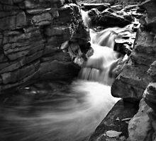 Wispy Cascade by Aaron Campbell