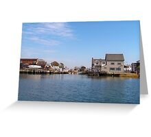 Broad Channel Greeting Card