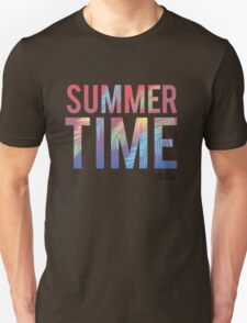 Summer time typography Unisex T-Shirt