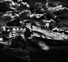 Mystical Fortress Kalemegdan Belgrade by stockfineart