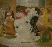 Antique Chickens For Sale by angelandspot