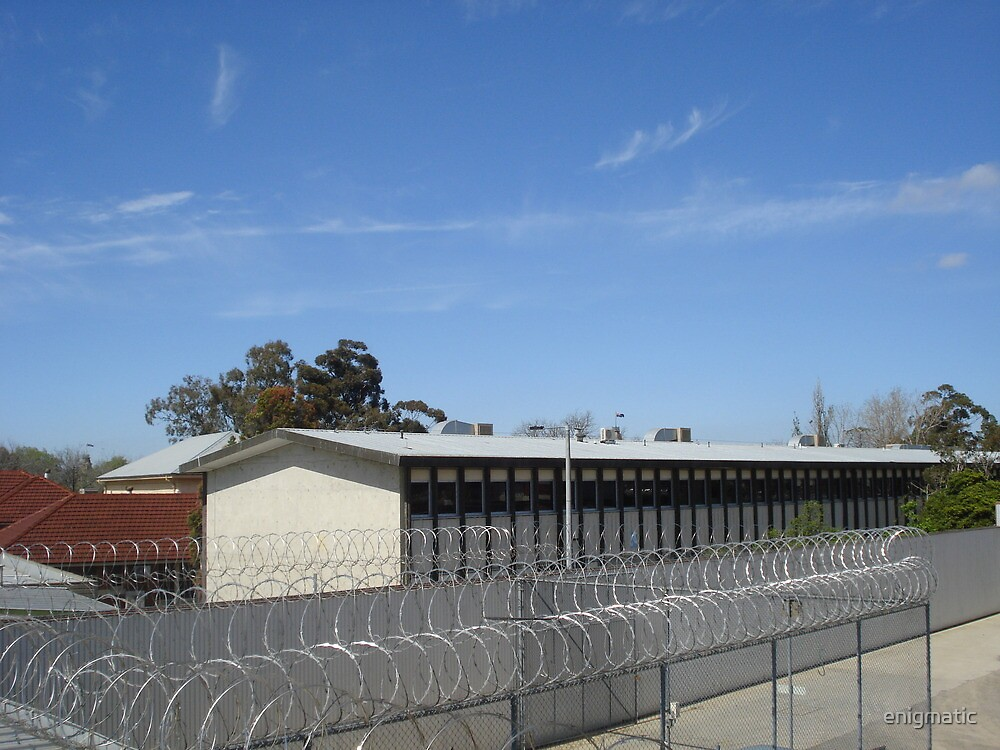 Bendigo Jail - from above by enigmatic