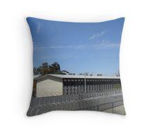 Bendigo Jail - from above Throw Pillow