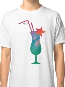 Summer caribbean cocktail Classic T-Shirt