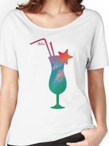 Summer caribbean cocktail Women's Relaxed Fit T-Shirt