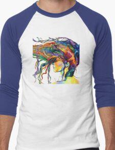 Hair color Men's Baseball ¾ T-Shirt