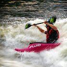 Ottawa river Kayaking by Hadleigh Thompson