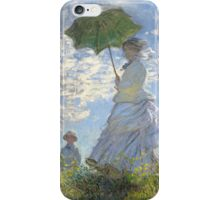 Woman with Parasol iPhone Case and Skin iPhone Case/Skin