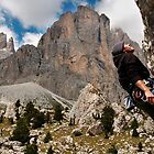 Dolomiti rock climbing by Hadleigh Thompson
