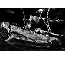Mystical Fortress Kalemegdan Belgrade Photographic Print