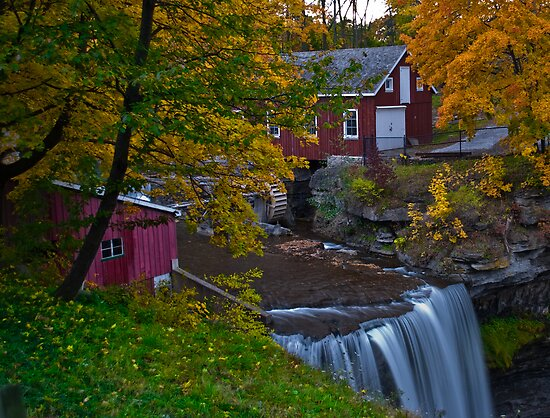 Morningstar Mill in Autumn by (Tallow) Dave  Van de Laar