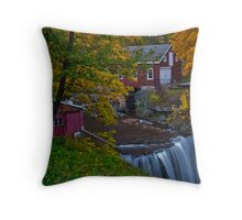 Morningstar Mill in Autumn Throw Pillow