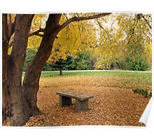 Come and Sit under the Trees Poster