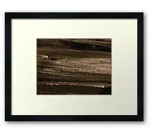 The Hidden Land - The Raven's Plateau Framed Print