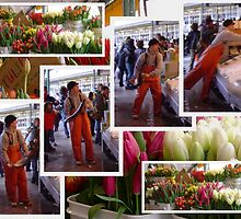 Seattle's Pike Place Market Collage by AuntDot