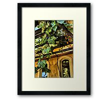 Shenandoah Valley Winery Framed Print