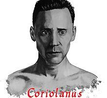 Tom Hiddleston as Coriolanus by OnaVonVerdoux