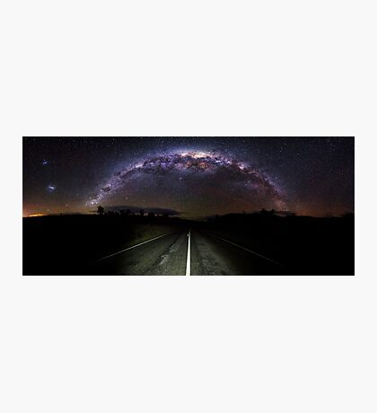 The Milky Highway  Photographic Print