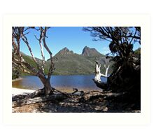 Natural Frame ~ Cradle Mountain ~ Natural Beauty Art Print
