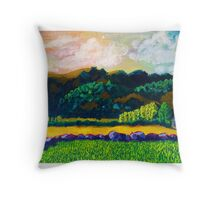 The Ranch from Memory Throw Pillow
