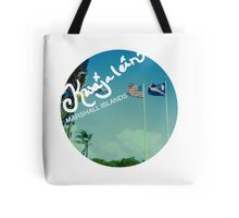 Kwajalein Flags Tote Bag