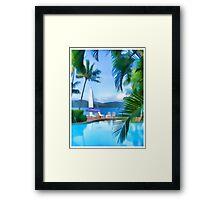 Day Dream Island Framed Print