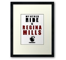 My Other Ride (Regina) Framed Print