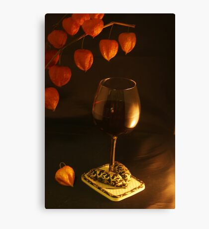Well-dressed Wine Canvas Print