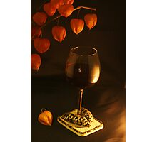 Well-dressed Wine Photographic Print