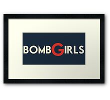 bomb girls! Framed Print
