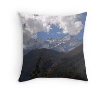 More Nepalese giants... Throw Pillow