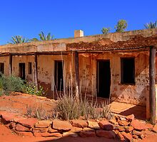 Old living quarters - Hermannsburg by Hans Kawitzki