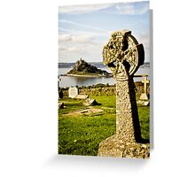 Cross and Mount Greeting Card