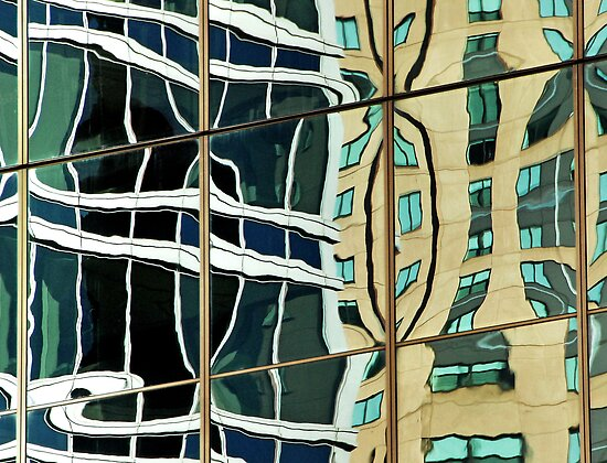 Building reflection 1, Sydney Australia by luvdusty