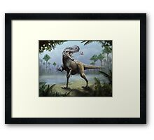 A Quick Snack Framed Print