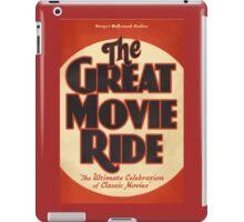 Great Movie Ride iPad Case/Skin
