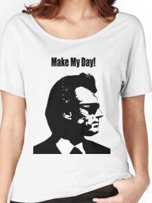 Clint Eastwood Dirty Harry Make My Day Women's Relaxed Fit T-Shirt