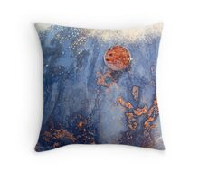 Neptune's Uprising Throw Pillow