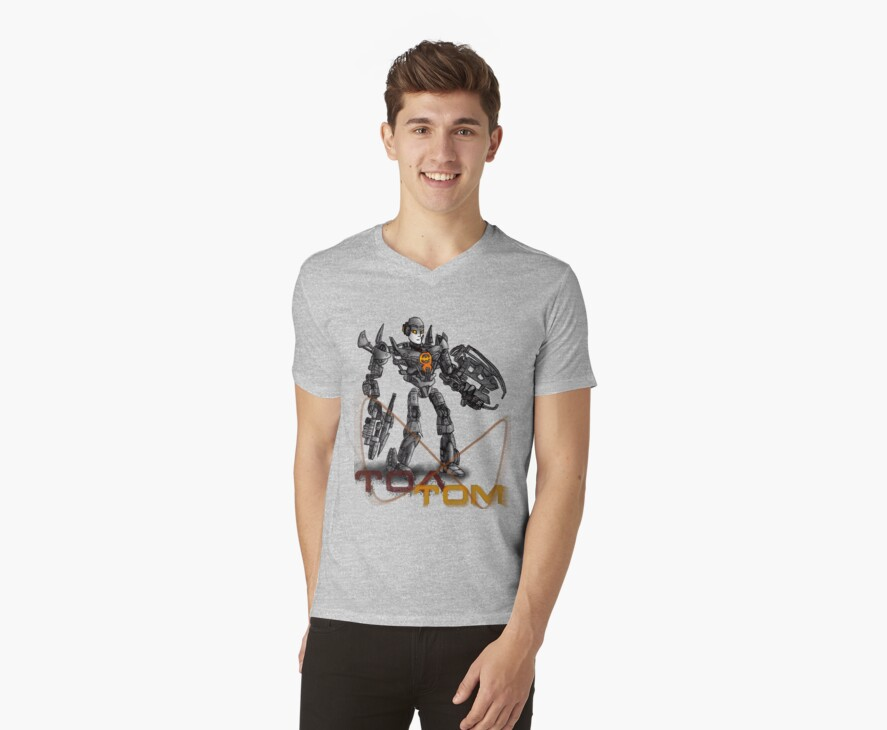 Toa Tom T-Shirt / Sticker by Tom  Rule