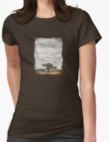One Tree Plain Womens Fitted T-Shirt